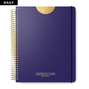 2021 Daily Desire Map Planner (Steady Indigo)