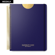 2021 Weekly Desire Map Planner (Steady Indigo)