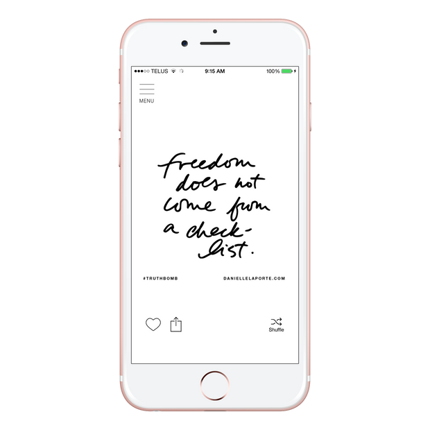The #Truthbomb App