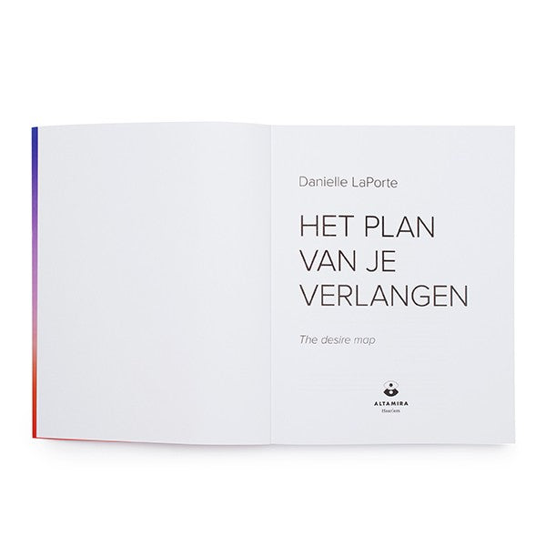 The Desire Map Book - Dutch Edition