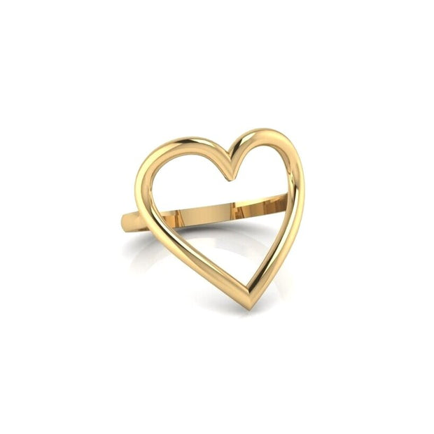 The Heart Centered Ring (gold)