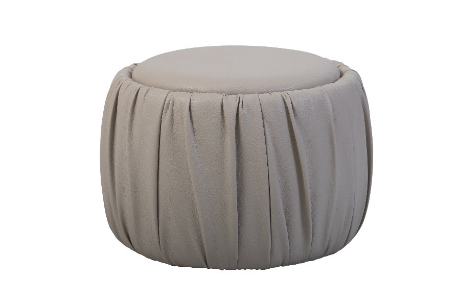 Eco-leather Ottoman. Easy chair. Puff.