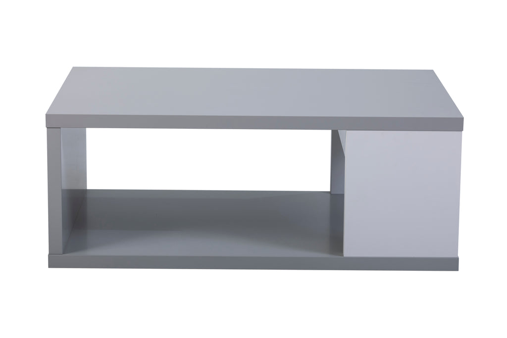 Modern Viena Coffee Table in grey and white