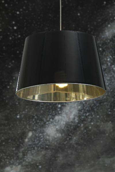 Modern ceiling lamp. Interior lighting.