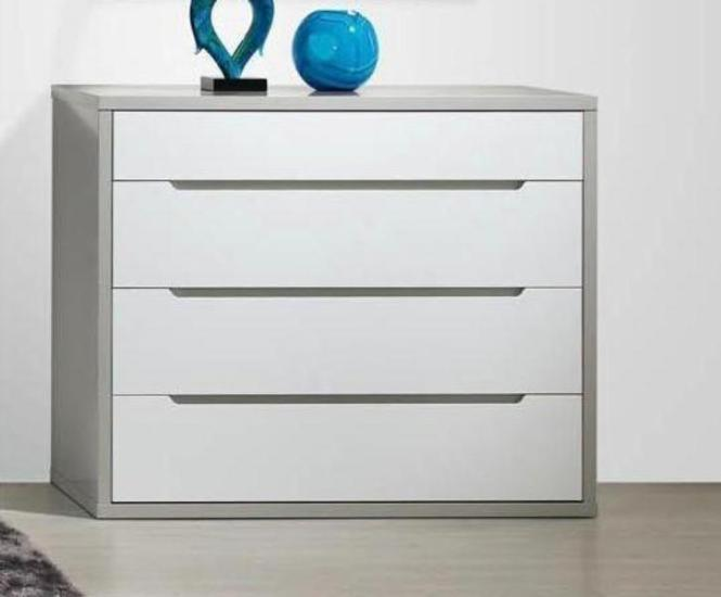 Viena 4 drawer chest of drawers. Modern chest of drawers.
