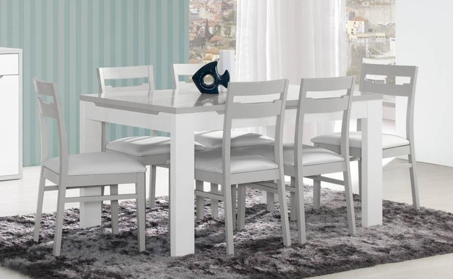 Modern Viena extendable dining table. 6-8 seater dining table.