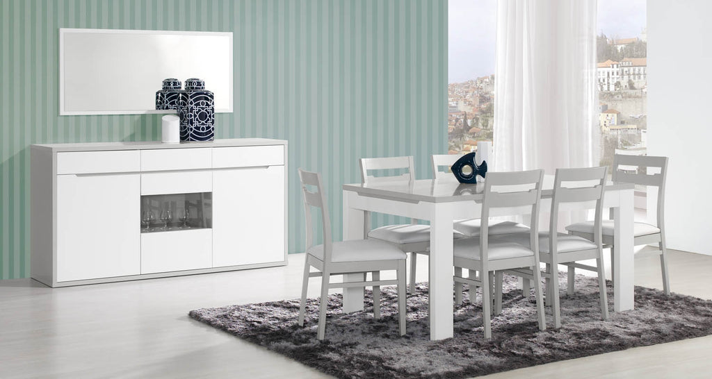 Modern Viena dining room set.