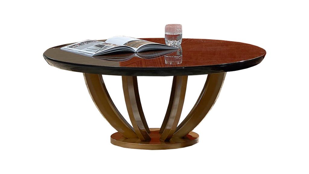 coffee table or side table in gloss wood