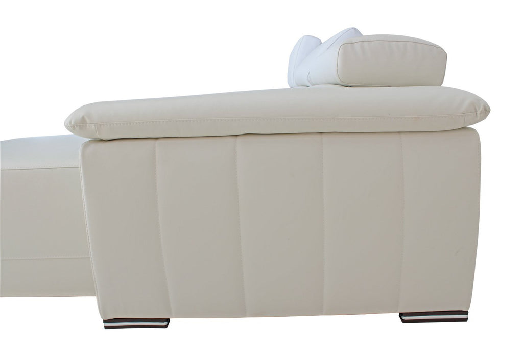 Orly L Sofa with Adjustable head and seat rests -RHS