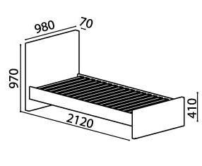 Measurements for kids bed.