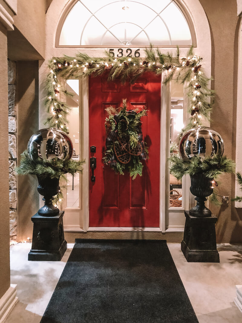 Front Porch Holiday Design Example 4