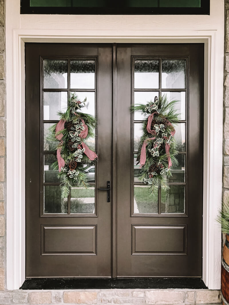 Front Porch  Holiday Design Example 1