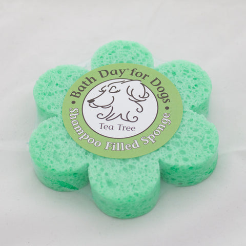Tea Tree Dog Sponge - Small