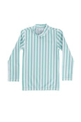 Hugo rash vest - mint stripe