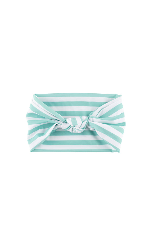 Knot Headband - Mint Strip
