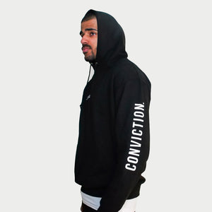 Conviction Black Hoodie