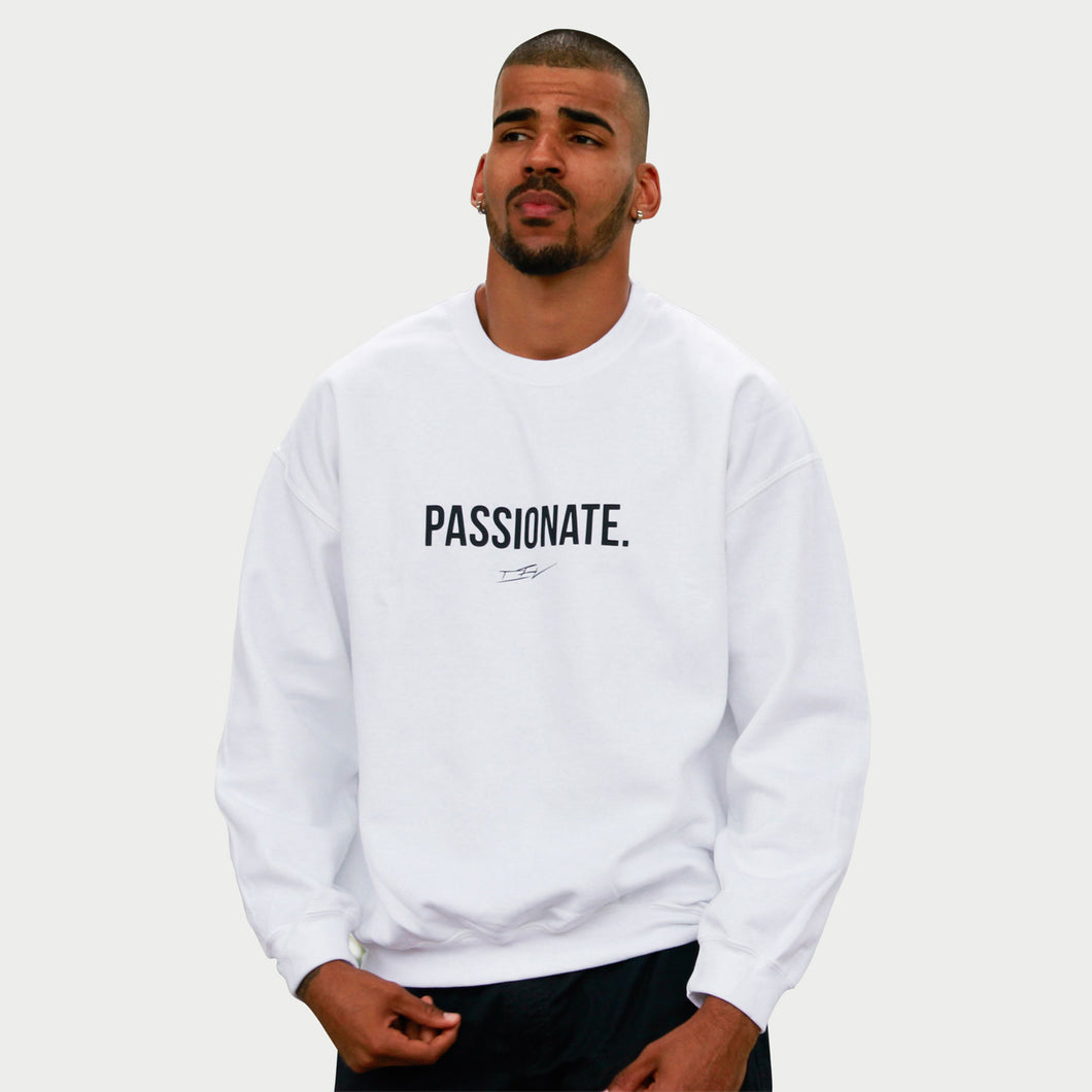Passionate White Sweater  cev-apparel.myshopify.com