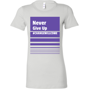 Never Give up Short Sleeve Tee