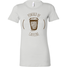 Load image into Gallery viewer, Powered by Caffeine Short Sleeve Tee