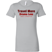 Load image into Gallery viewer, Travel More, Drama Less Issa Lifestyle Short Sleeve Shirt