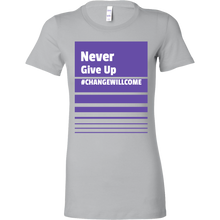 Load image into Gallery viewer, Never Give up Short Sleeve Tee