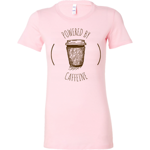 Powered by Caffeine Short Sleeve Tee