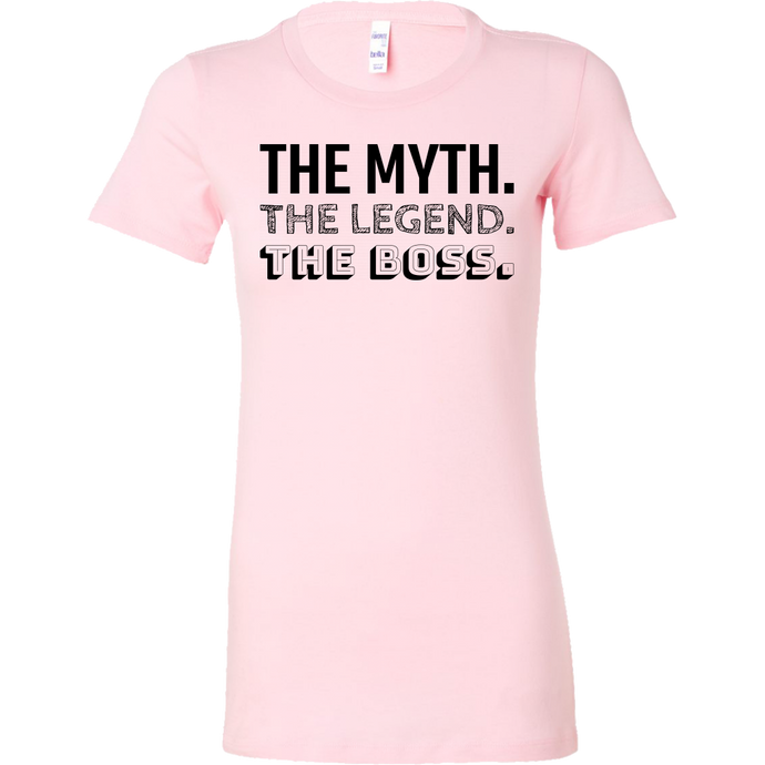 The Myth, The Legend, The Boss Short Sleeve Shirt