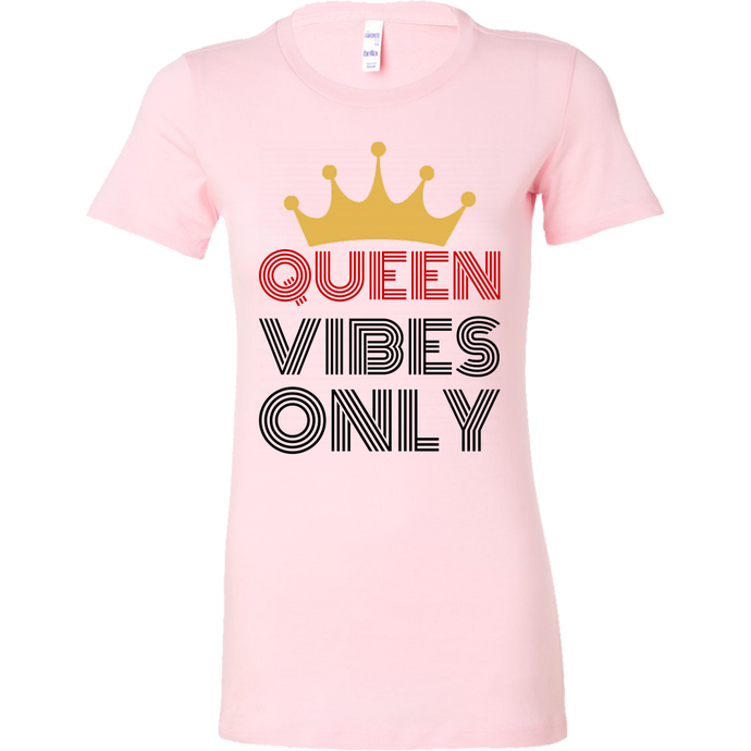 Queen Vibes Only Short Sleeve Shirt