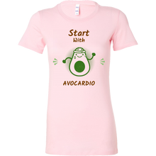 Load image into Gallery viewer, Start with Avocardio Short Sleeve Tee