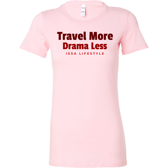 Travel More, Drama Less Issa Lifestyle Short Sleeve Shirt