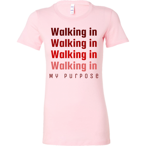 Walking in My Purpose Short Sleeve Shirt