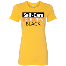 Load image into Gallery viewer, Self Care is the new Black Tee