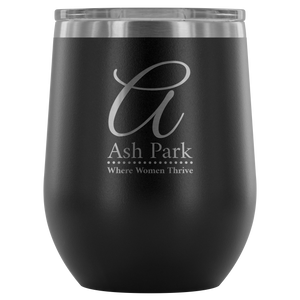 Ash Park Limited Edition Logo Wine Tumbler