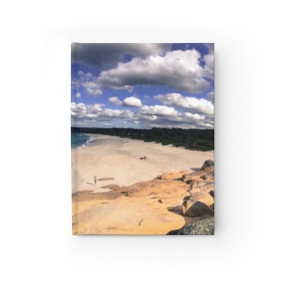 Beach Sky Wrap Around Journal - Ruled Line