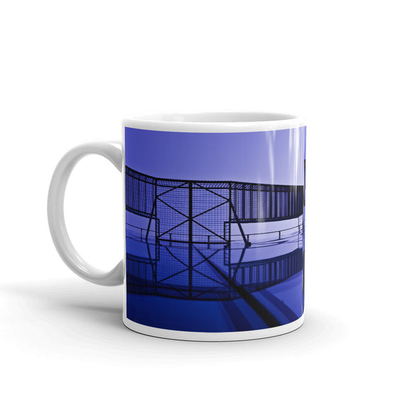 Interesting Architecture Mug Colour Art Print