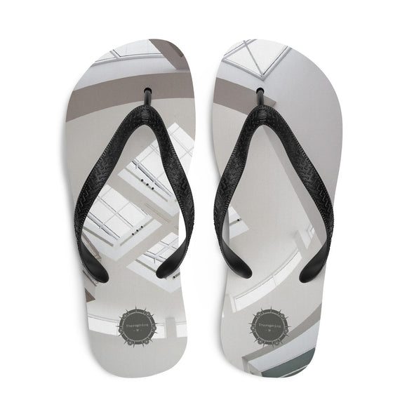 Upward Architecture Theraphina Logo Flip-Flops