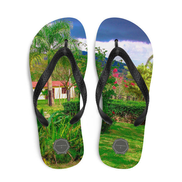 House In Paradise Theraphina Logo Flip-Flops