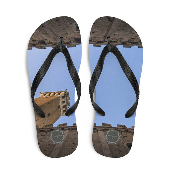 Inside View Architecture Theraphina Logo Flip-Flops