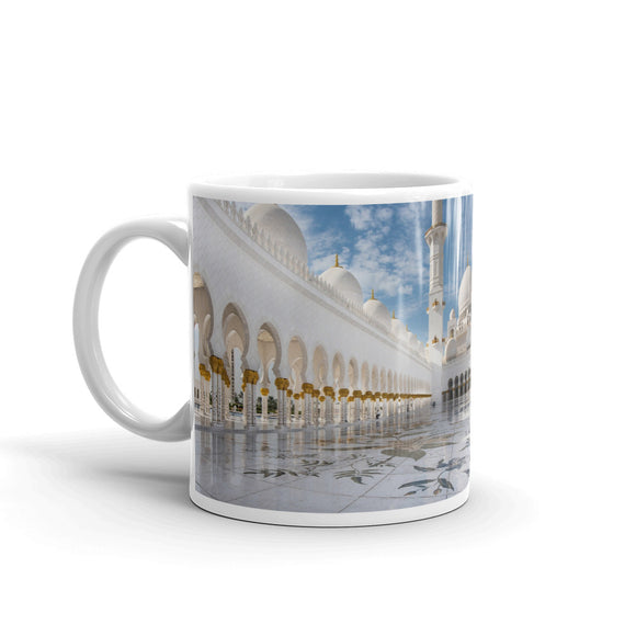 Exterior of Mosque Mug Art Print