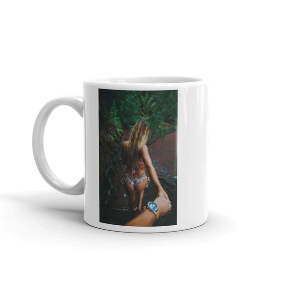 Girl In Thong Bikini Leading Design Mug Gift For Him or Her