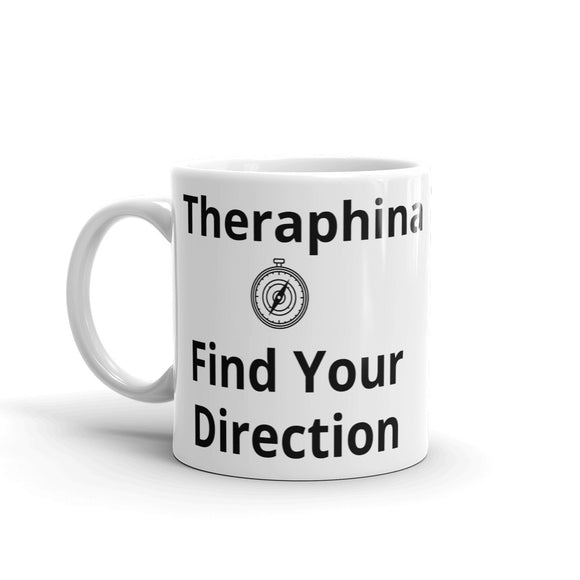 Theraphina Find Your Direction Compass Mug