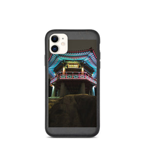 Night View Biodegradable phone case