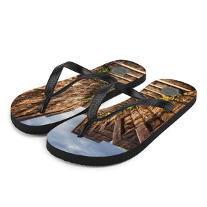 Stone Stairs Theraphina Logo Flip-Flops