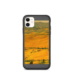 Italy Landscape Biodegradable phone case