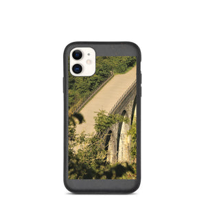 Landscape Bridge Biodegradable phone case