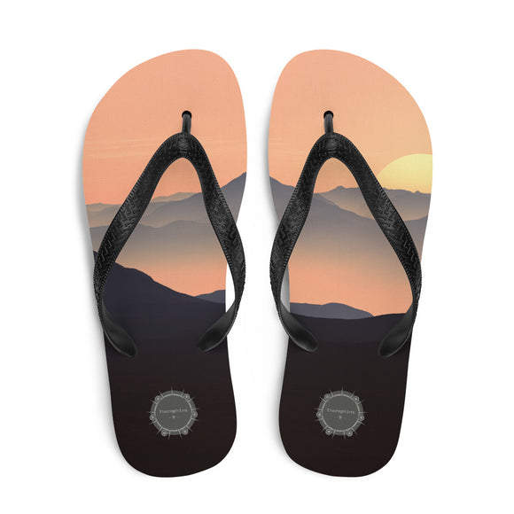 Evening Theraphina Logo Flip-Flops