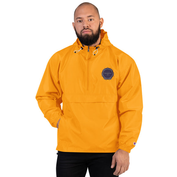 Theraphina Logo Embroidered Champion Packable Jacket
