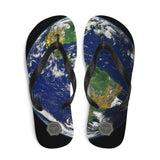 Planet Earth Theraphina Logo Flip-Flops