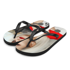 Daddy's Little Monster Theraphina Logo Flip-Flops
