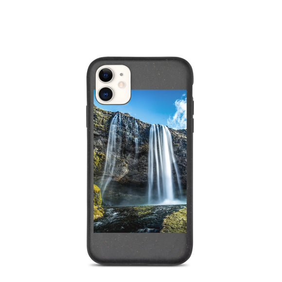 Majestic Waterfall Biodegradable phone case